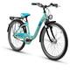 s'cool chiX 24 7-S - Vélo enfant - steel turquoise